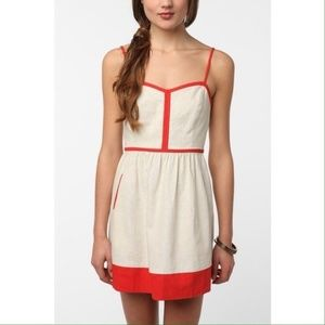 Urban Outfitters Cope Linen Dress